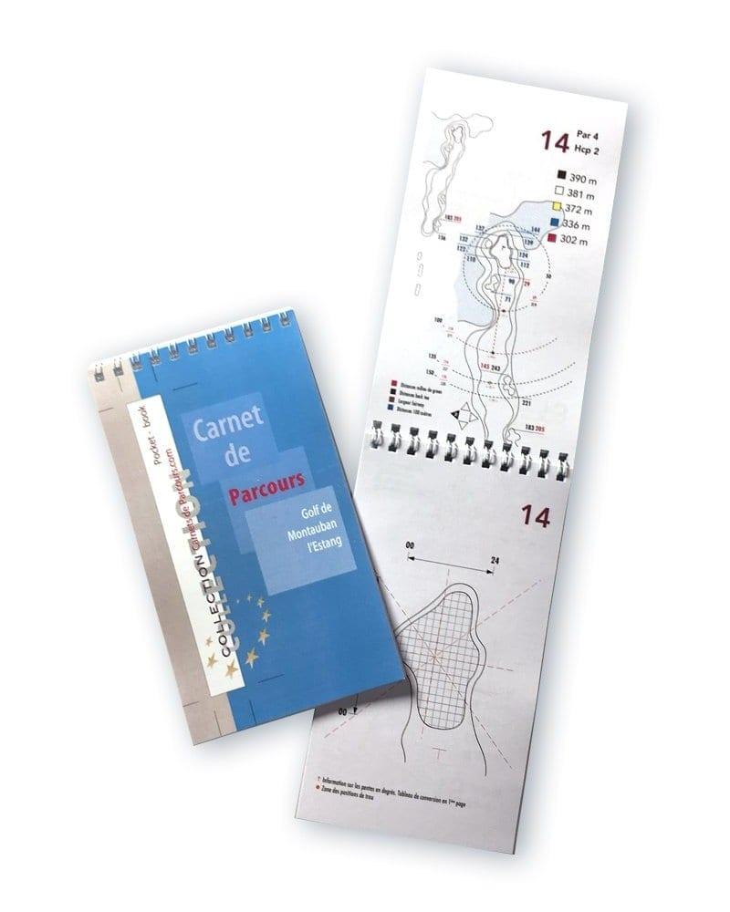 Pocket Book Golf de Montauban l'Estang