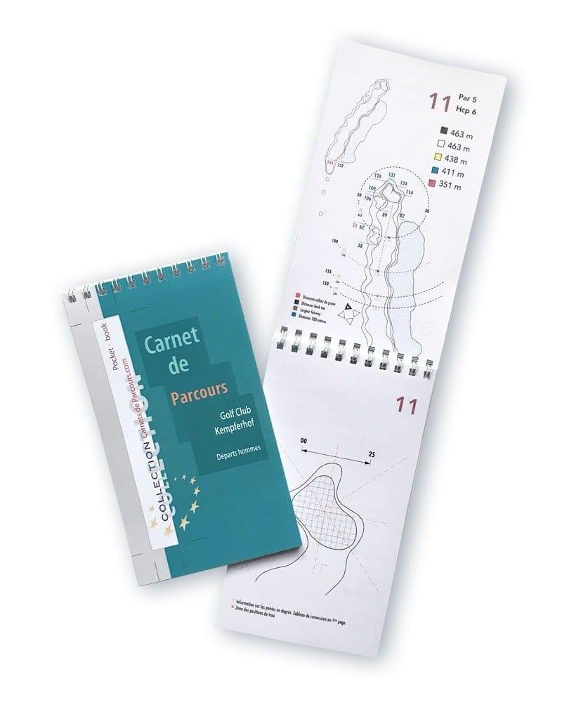 Pocket Book Golf du Kempferhof