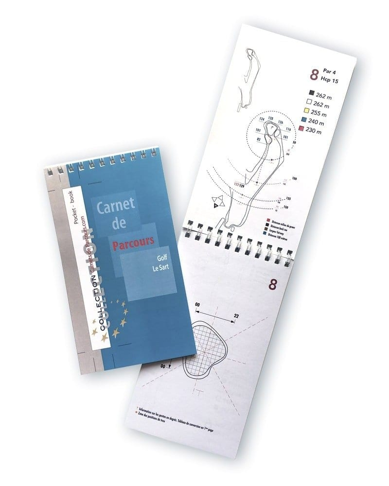 Pocket Book Golf du Sart
