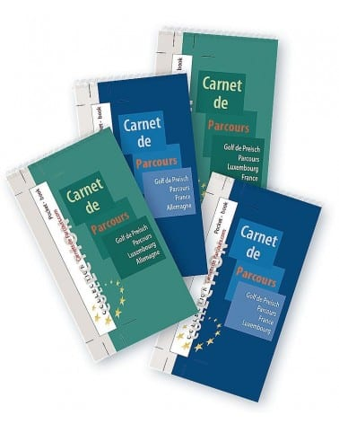Pack Pockets Book Golf de Preisch