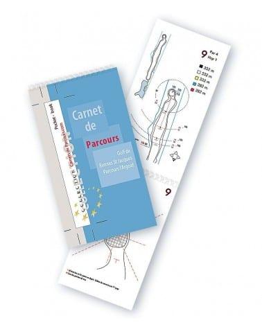 Pocket Book Golf Rennes St Jacques
