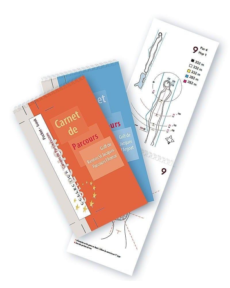 Pack Pocket Book Golf Rennes St Jacques