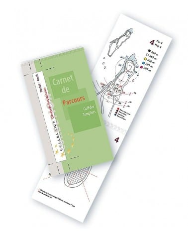 Pocket Book Golf des Templiers