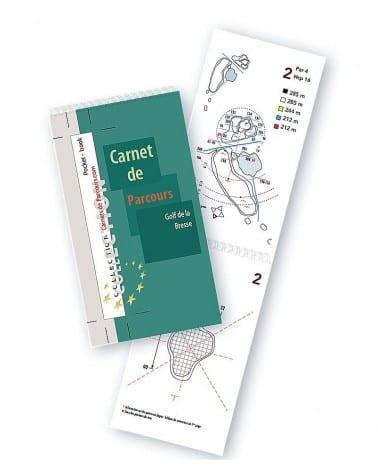 Pocket Book Golf de la Bresse