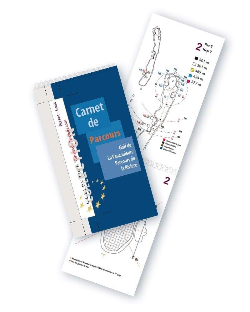 Pocket Book Golf La Vaucouleurs Rivière