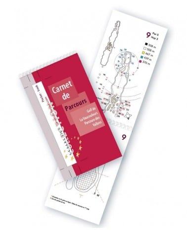 Pocket Book Golf La Vaucouleurs Vallons
