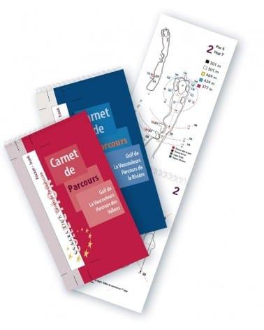 Pack Pocket Book Golf La Vaucouleurs