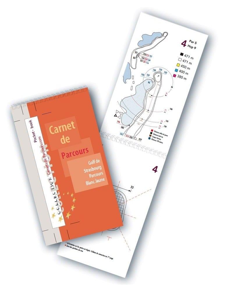 Pocket Book Golf de Strasbourg