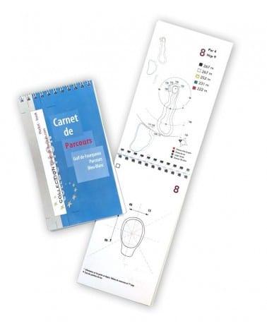 Pocket Book Golf de Fourqueux - Bleu Blanc