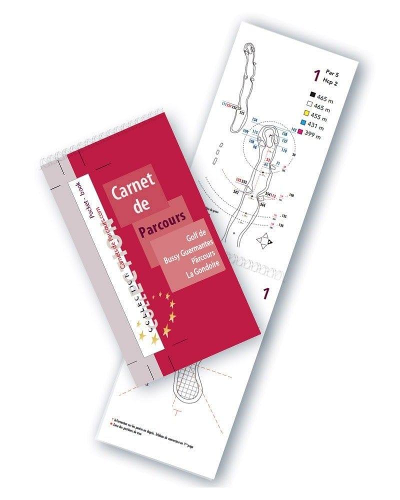 Pocket Book Golf de Bussy Guermante Gondoire