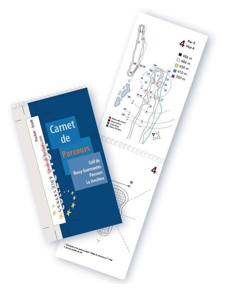 Pocket Book Golf de Bussy Guermante Jonchère