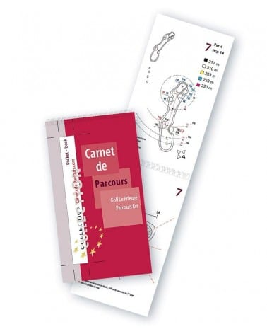 Pocket Book Golf du Prieuré