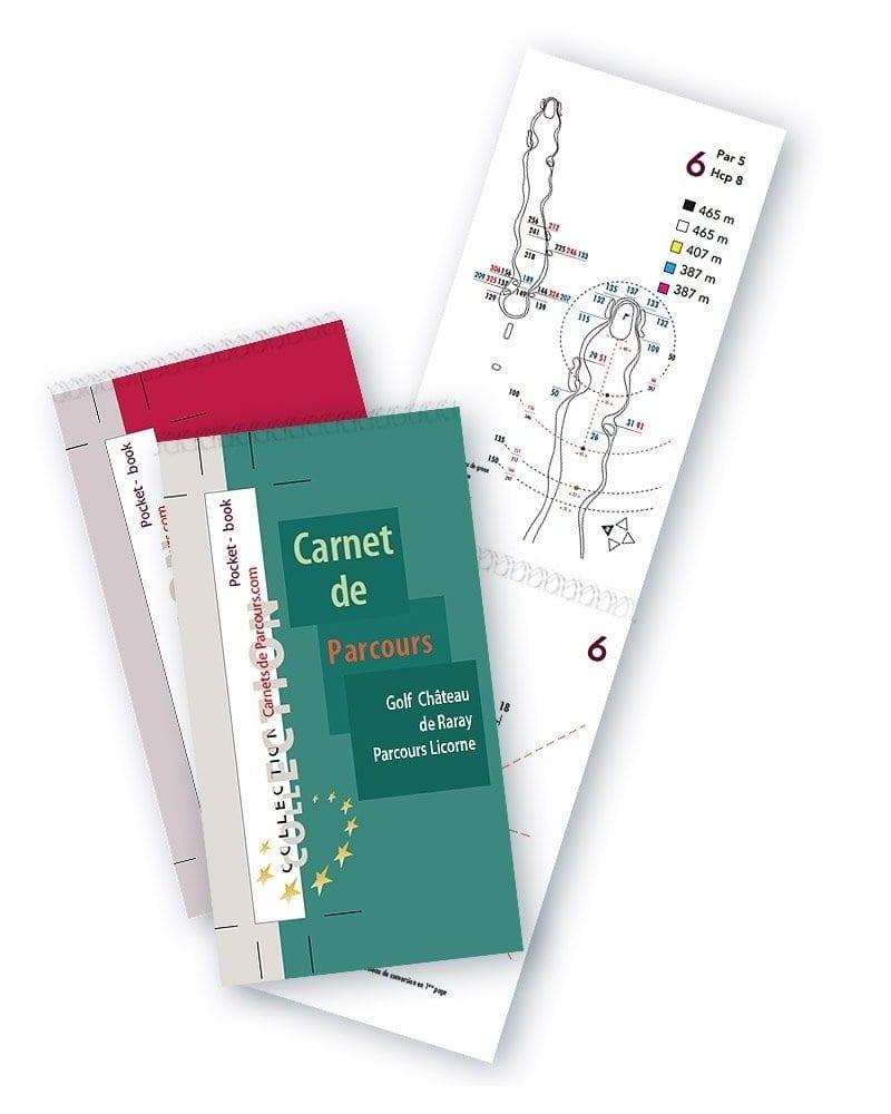 Pack Pockets Book Golf Château du Raray