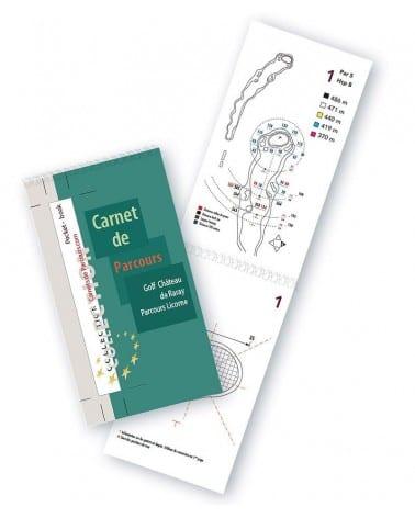 Pocket Book Golf Château de Raray