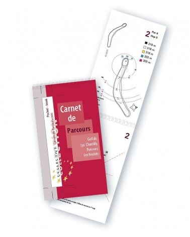 Pocket Book Golf du Lys Chantilly