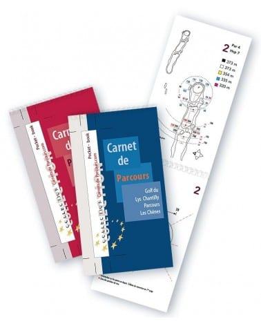 Pack Pockets Book Golf du Lys Chantilly