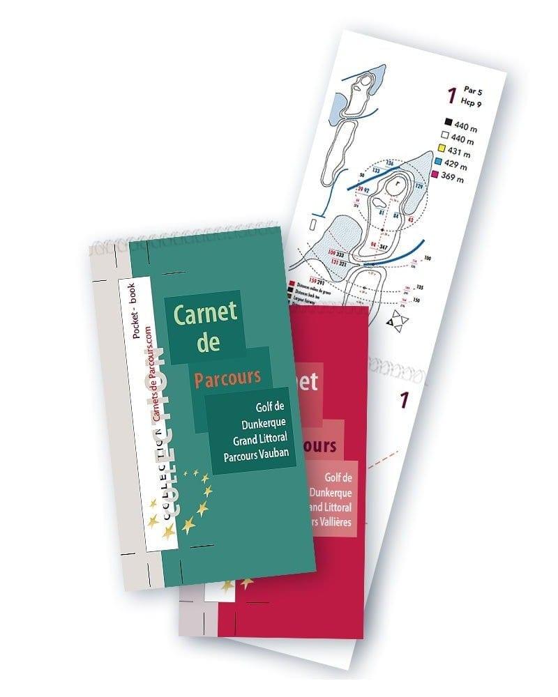 Pack Pockets Book Golf de Dunkerque
