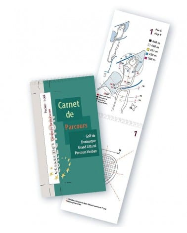Pocket Book Golf de Dunkerque