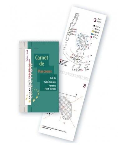 Pocket Book Golf de SabléSolesme