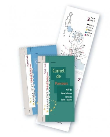 Pack Pockets Book Golf de SabléSolesme