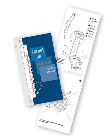 Pocket Book Golf d'Arcachon