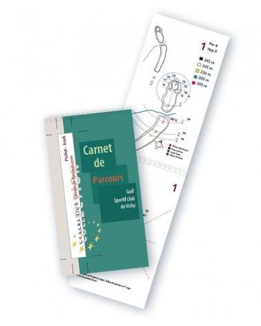 Pocket Book Golf Sportif club de Vichy