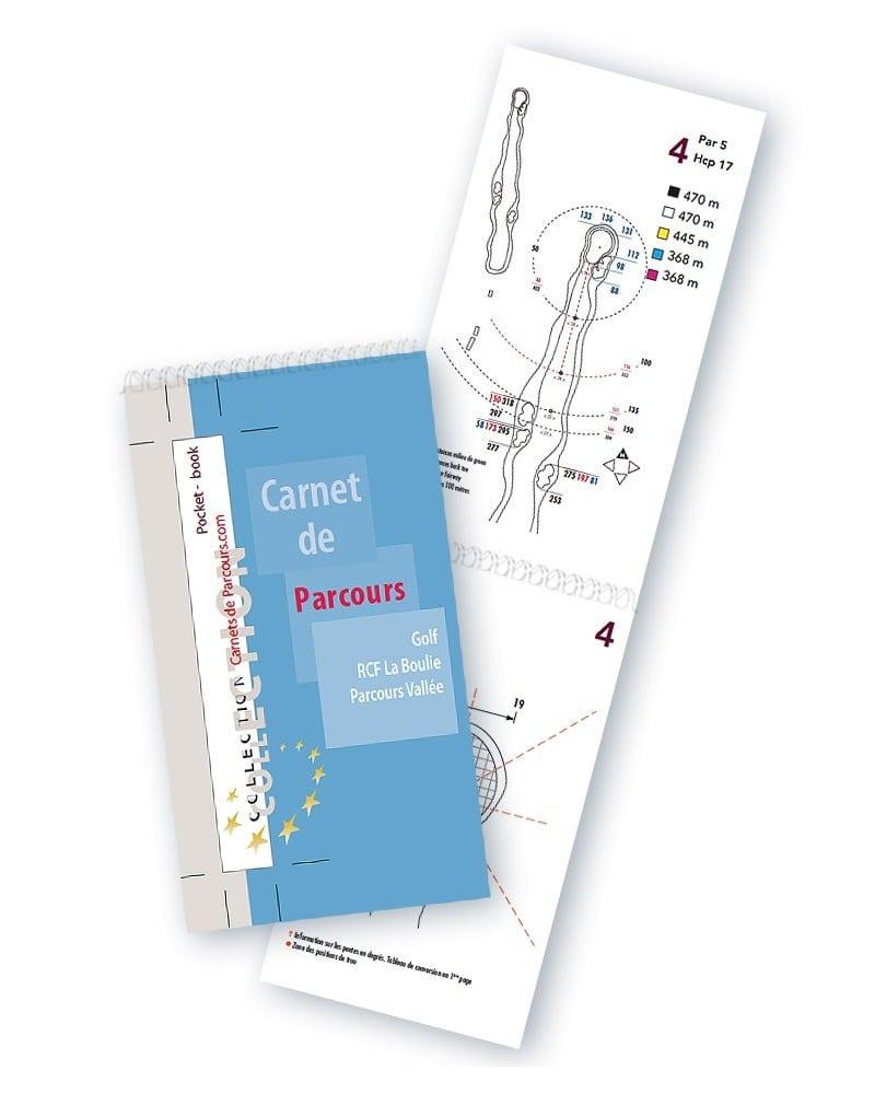 Pocket Book Golf RCF La Boulie Vallée