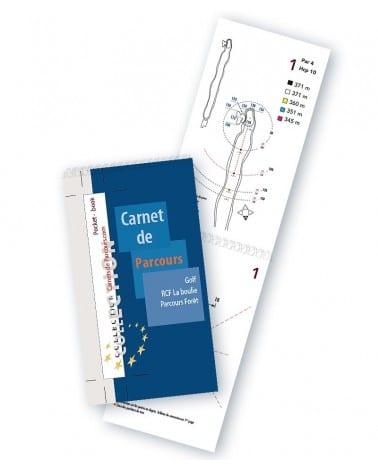 Pocket Book Golf RCF La Boulie Forêt