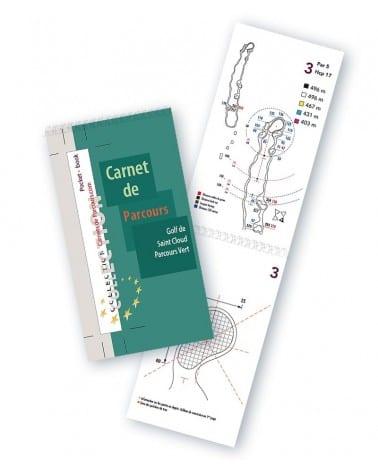 Pocket Book Golf de St Cloud Vert