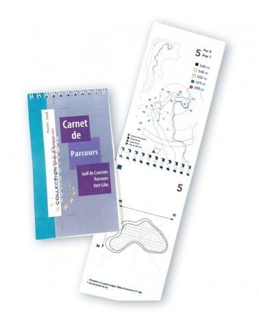 Pocket Book Golf de Courson - Vert Lilas