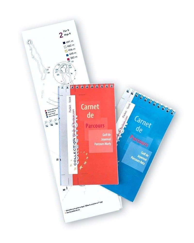 Pack Pockets Book Golf de Joyenval