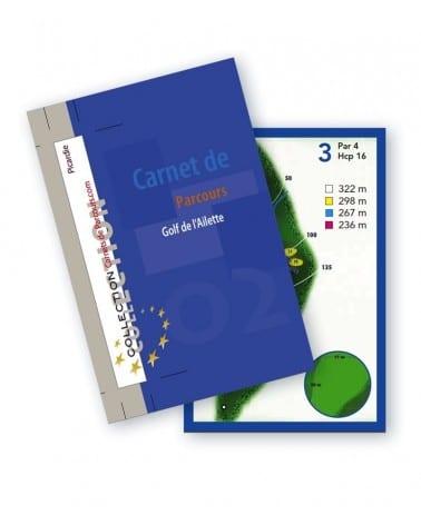 Carnet de parcours golf de l'Ailette